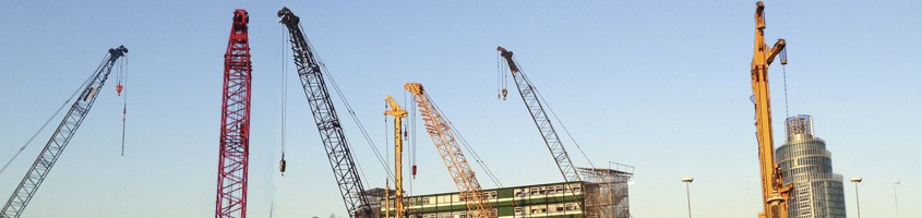 crawler cranes piling